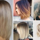 Hairstyles of 2018 for women