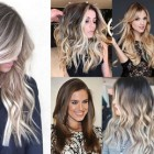 Long hairstyle for 2018