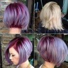 Short hairstyles and colors for 2018