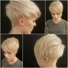 Stylish short hairstyles 2018