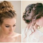 Braided updo hairstyles for medium hair