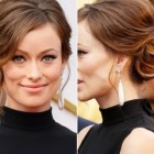 Celebrity updo hairstyles 2018