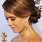 Classic updos for long hair