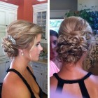 Cute buns for prom