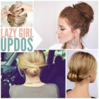 Easy at home updos