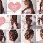 Easy prom updos for long hair
