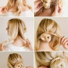 Easy updo hairstyles for weddings