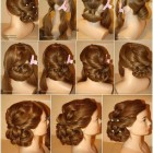 Elegant evening hairstyles