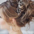 Hair style in bridal