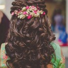 Hairstyle for wedding ceremony