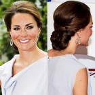Latest updo hairstyles