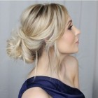 New updos for long hair