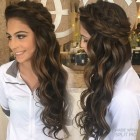Prom hair for long hair down