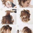 Prom hair for short hair
