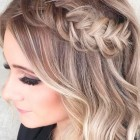 Prom hairstyles for short hair 2018