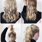 Quick easy long hairstyles
