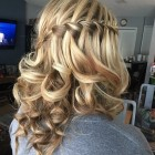 Shoulder length hairstyles for prom