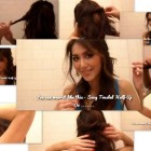 Simple hairstyles for medium hair at home