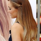 Straight hair prom hairstyles