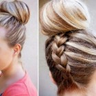 Up style hairdos for long hair