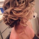 Updo hairstyles for wedding bridesmaid