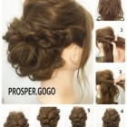 Updos for extremely long hair