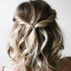 Upstyle hairstyles for medium hair