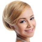 Womens hair up styles