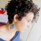 Very short curly hairstyles 2016