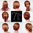 Cute fast and easy hairstyles for long hair