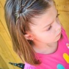 Girl kids hairstyle