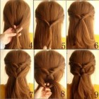 Simple and easy hairstyles for girls