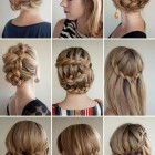 Style in hair