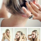 Summer hairdos for long hair