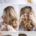 Very easy hairstyles