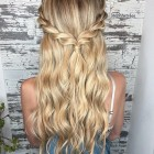 Cute easy hairstyles for long hair down