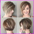 Cute haircuts for round faces 2019