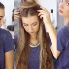 Easy hairstyles to do with straight hair