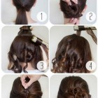 Easy long thick hairstyles