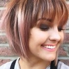 Fringe short hairstyles 2019