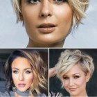Hairstyle for short hair 2019