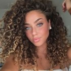 Hairstyles for natural curly hair 2019