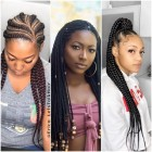 Latest braid hairstyle 2019
