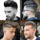 New stylish hair cutting