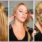 Quick easy hairstyles for long straight hair