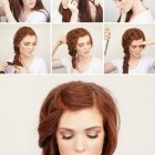 Quick hairstyles for thick hair