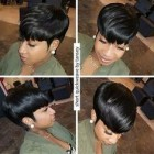 Short hairstyles with weave 2019
