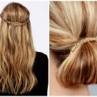 Some simple hairstyles for long hair
