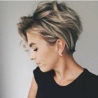 Upstyles for short hair 2019