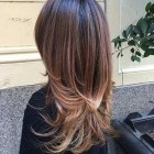 Haircut style for long hair 2020